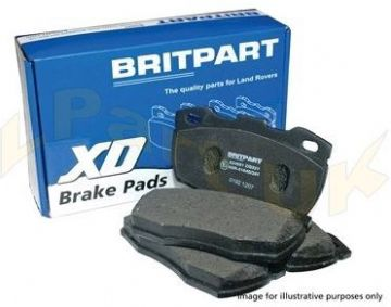 Defender Brake Pads Rear 2007>